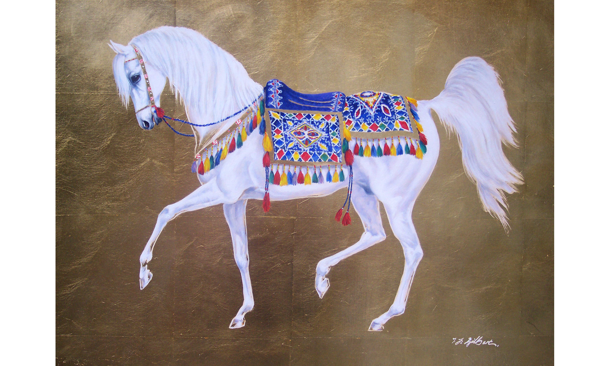 Artist Terence J Gilbert Middle East Paintings